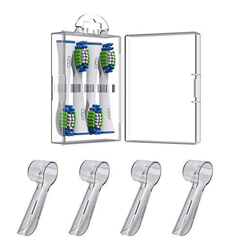 Estuche Almacenamiento para Cabezales Cepillo Dientes Eléctrico para Oral B – Fundas...
