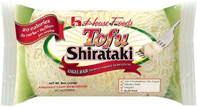 Tofu Shirataki Noodles 10 Bags Angel Hair Shape