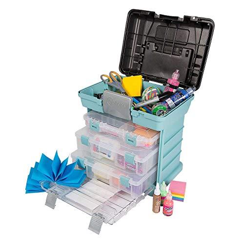 Creative Options 1363-83 Grab N' Go Rack System, Soft Blue,Medium