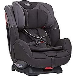 Group 0+/1/2 car seat - Suitable from birth to approx. 7 years (0-25kg) Rearward facing for longer - from birth to approx. 4 years (0-18kg) Forward facing harness mode from 9 months to approx. 7 years (9-25kg) 4 recline positions (1 rearward, 3 forwa...