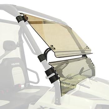 Kolpin UTV Windshield - Full-TILT - Polaris Ranger 570/800-2621 White 55  x 27  x 4