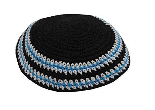 body-soul-n-spirit Holyland Sombrero judío Kipà clássica Tejida cubrecabeza étnica judía de Israel Gorra