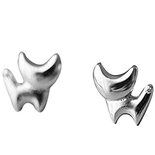Emorias 1 Paar Ohrringe für Damen, Katze, Modeschmuck, Legierung, Ohrringe, Schmuck, Geschenke für Mädchen