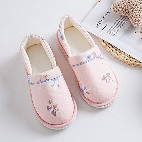 Oedeemschoenen, sandalen na diabetes,Dunne sectie met antislip schoenen, zachte onderkant moederschap pantoffels-39_Pink,Diabetische wandelschoenen voor heren Ademende sneakers