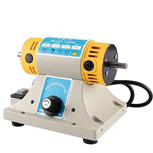 Kacsoo Poliermaschine für Schmuck Schleifgeräten usw, TM-2 220 V 350 Watt 0-10000r / min Poliermaschinensatz