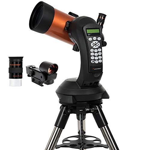 YT Télescope Astronomique Jumelles Intelligentes de Recherche Automatique D'étoiles avec Trépied, Télescope Professionnel D'Observation des étoiles pour Enfants Débutants Adultes