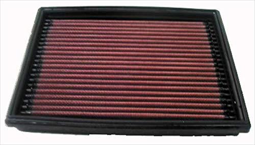 K&N 33-2813 Motorluftfilter: Hochleistung, Prämie, Abwaschbar, Ersatzfilter, Erhöhte Leistung, 1998-2008 (Berlingo, Xsara Picasso, 206, Partner)