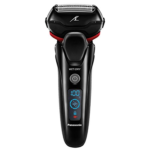 Panasonic ES-LT3N-K Arc3 3-Blade Electric Shaver with Built-In Pop-up Trimmer, Active Shave Sensor Technology and Wet Dry Operation, Black