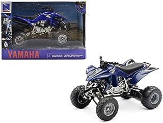 New Ray Toys 1:12 Scale ATV Die-Cast Replica Yamaha YFZ450 2008 Blue 42833A