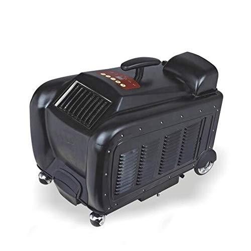 220V Bewegliches Zelt Klimaanlage for Campingzelt, Mobile Klimaanlage for Zelt, Campingzelt Klimaanlage (Color : Black)