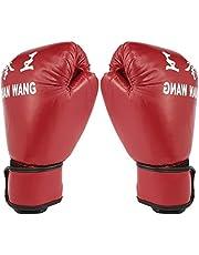 Rojo Y Negro De Boxeo Guantes Adulto Guantes Profesional Bolsa De Arena Liner Kickboxing Guantes Hombres Mujeres En Lucha contra La Herramienta De Formación Zzib
