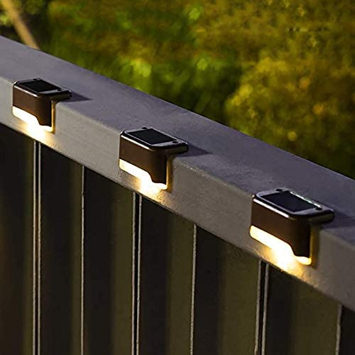 Solpex Solar Deck Lights Outdoor 16 Pack Solar Step Lights Waterproof Led Solar Lights for Outdoor product image