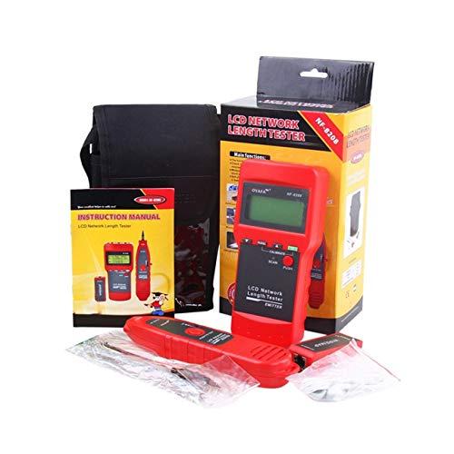 Ballylelly Für noyafa nf-8208 mehrzweck LCD Display Netzwerk Telefon kabeltester Tracker leitungsfinder draht Tester kabelsuche