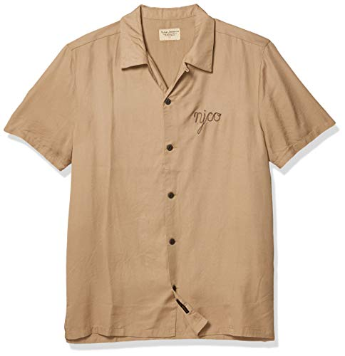 Nudie Jeans Herren Arvid NJCO Hemd, Groß