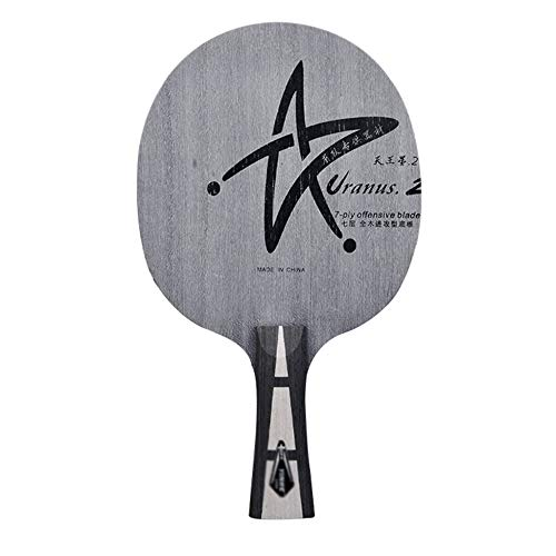 Learn More About Pure Wood Table Tennis Bat,Ping Pong Racket Case with Non-Slip Family School Office...