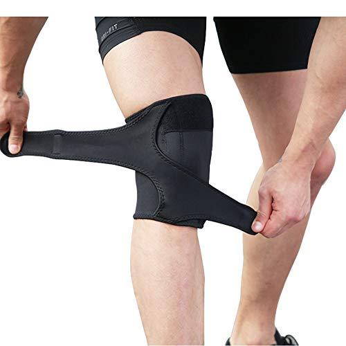 Support de Genou pour la Course à la ménartre, arthrose de la déchirure ACL MCL Sports, Patelle Ouverte pour la lésion méniscale à la déchirure avec Bretelles Ajustables