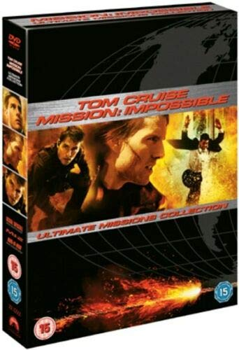 Tom Cruise Mission Impossible Collection - Nordic Import Region 2