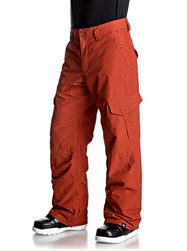 Quicksilver Herren Snowboardhose Porter, Herren, Arancio, XL