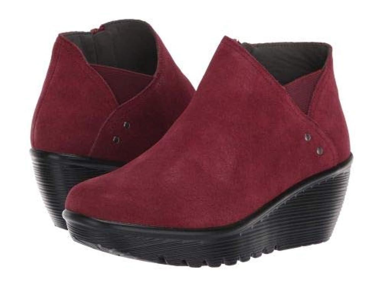 ローブ知覚命題SKECHERS(スケッチャーズ) レディース 女性用 シューズ 靴 ブーツ アンクルブーツ ショート Parallel Ditto - Burgundy [並行輸入品]