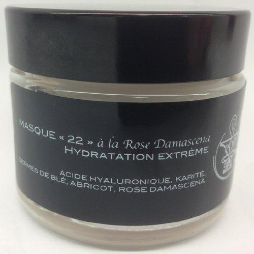 MASQUE 22 HYDRACONFORT à la Rose Damascena -Pharmacie Marronniers- 50ml