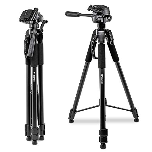 Polaroid 75' Photo / Video ProPod Tripod Includes Deluxe Tripod Carrying Case + Additional Quick Release Plate For Digital Cameras & Camcorders