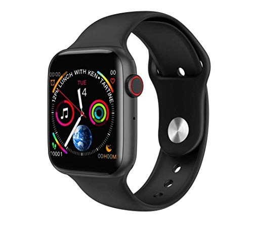 NG FASHION Men's Latest Smart Watch w34 Smart Watch Series 5 with Bluetooth Calling,Heart Rating,BP,Activiti Tracker(Black )