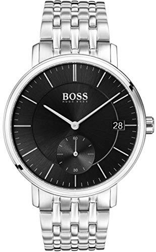 Hugo BOSS Reloj Analógico para Hombre de Cuarzo con Correa en Acero Inoxidable 1513641