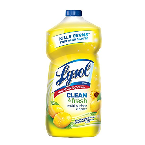 Lysol Power and Fresh All Purpose Cleaner, Lemon Sunflower, 28 Ounce