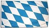 XXL Flagge Fahne Deutschland Bayern ohne Wappen 150 x 250 cm
