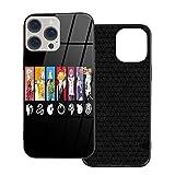 Étuis de téléphone Noirs pour iPhone 12/12 Pro Max 12 Mini 11 Pro Max SE X XS Max XR 8 7 6 6s...