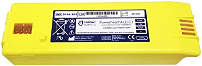 Intellisense Battery for Powerheart G3 AED Part No. 9146-302