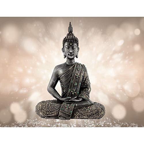Fototapete Buddha Vlies Wand Tapete Wohnzimmer Schlafzimmer Büro Flur Dekoration Wandbilder XXL Moderne Wanddeko - 100% MADE IN GERMANY - Feng Shui Runa Tapeten 9085010a