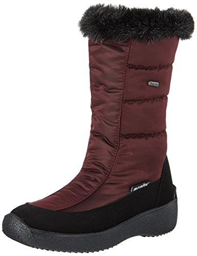 Manitu 991120, Botas para Nieve Mujer, Rojo, 38 EU