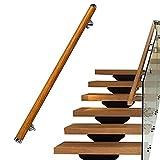 hairong Pasamanos para escaleras, barandillas de madera para interiores y exteriores, rieles de mano para niños mayores, pasillo de acceso al hospital, barra de agarre de seguridad (tamaño : 0,7 m)