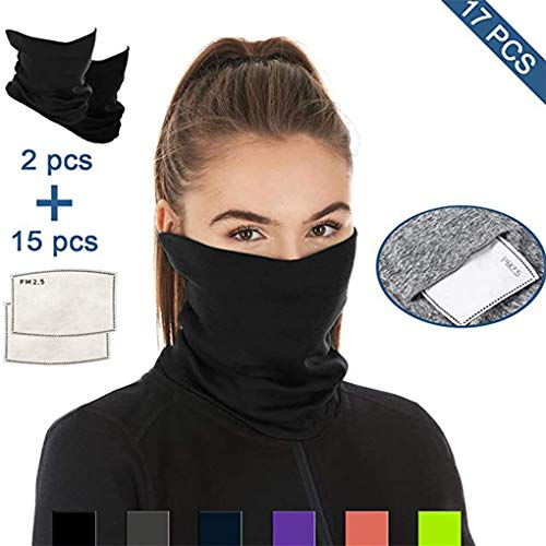 3stk Set Multifunktionstuch Motorrad Face UV Tube Gesichtsschutz Halb Schal Tube