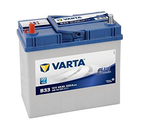 VARTA 5451570333132 Autobatterien Blue Dynamic B33 12 V 45 mAh 330 A
