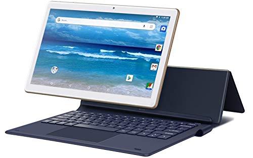 MEBERRY Tablet 11.6 Pulgadas,  Android Sistema 4GB RAM+ 64GB ROM- Certificación Google gsm- Dual SIM | 8000mAh | WI- FI | Bluetooth | GPS | Proyección(5.0+8.0 MP Cámara-  Cuerpo De Metal Gold