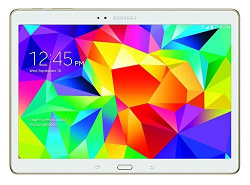 Samsung Galaxy Tab S 4G LTE Tablet, Dazzling White 10.5-Inch 16GB (Verizon Wireless) (Renewed)