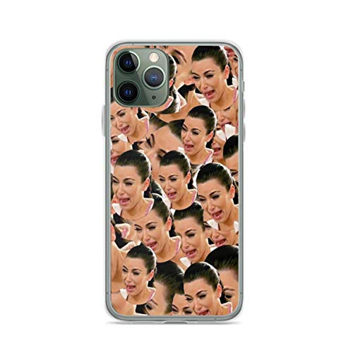 Crying Kim Phone Case Compatible with iPhone 12 11 X Xs Xr 8 7 6 6s Plus Pro Max Samsung Galaxy Note S9 S10 S20 Ultra Plus