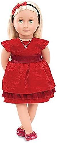 n ° 1 en línea Our Generation - muñeca de de de Jengibre con Libro (45,72 cm)  orden ahora disfrutar de gran descuento