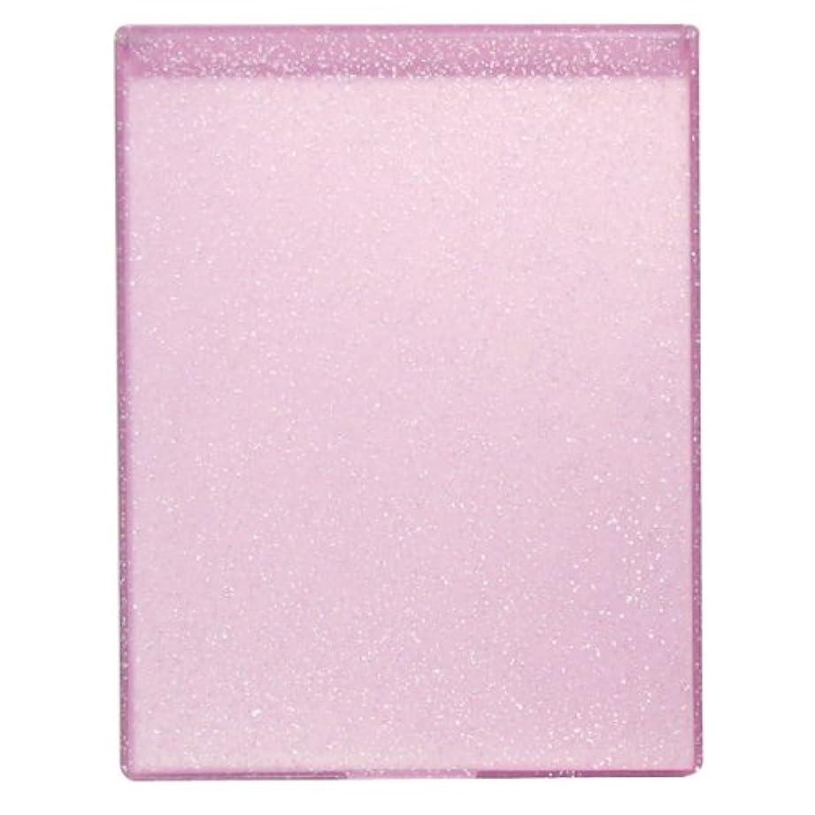 魔術認証絶対にYLA-900 ラメ入りコンパクトミラーL ピンク