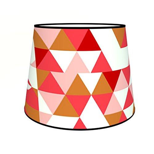 Abat-jours 7111303454681 Conique Franck Lampadaire, Tissus/PVC, Multicolore