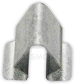 Original BOSSMOBIL kompatibel mit VERKLEIDUNGS BEFESTIGUNGSKLAMMER CLIP HALTER BLECHMUTTER 4A0867276B 0009840760 UNIVERSAL #NEU# 15, X 9 X 8 mm Menge: 10 Stück