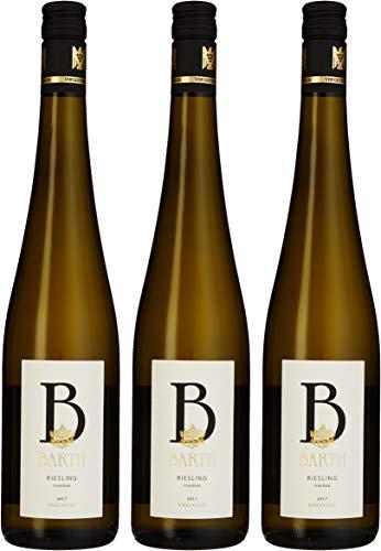 Wein- und Sektgut Barth Riesling QbA 2014 Trocken (3 x 0.75 l)