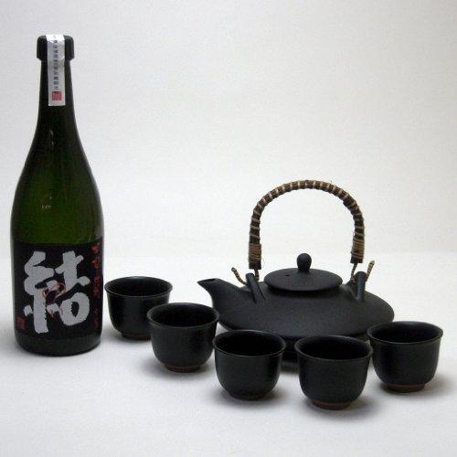 黒千代香セット5客ツル付濱田酒造 芋焼酎 結(ゆい)芋芋焼酎 28度 720ml