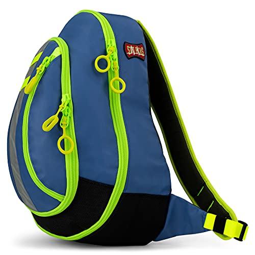 Statpacks G3 Medslinger Soft Sling EMS Gear Bag Quick Access Ergonomic Sport Pack Jump Bag for EMS, Police, Firefighters, Athletic Trainers Blue