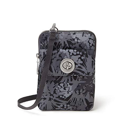 Baggallini Lima RFID Mini Bag, Pewter thistle