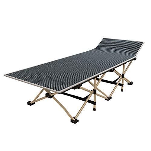 WXF Folding Gästebett, Oxford Cloth Büro Mittagspause Einzelbett Carbon Steel Bracket Krankenhaus Begleitende Bett Außen Einfach Camp Bed