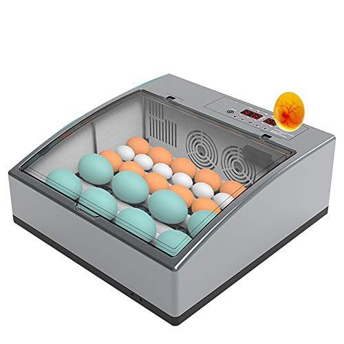 BAOFI Incubatrice per Uova Automatica, Incubatrici per Uova con Rotazione Automatica delle Uova E Controllo Dell\'umidità, per Uova di Gallina, Uova di Anatra, Uova D\'Oca Macchina Hatcher