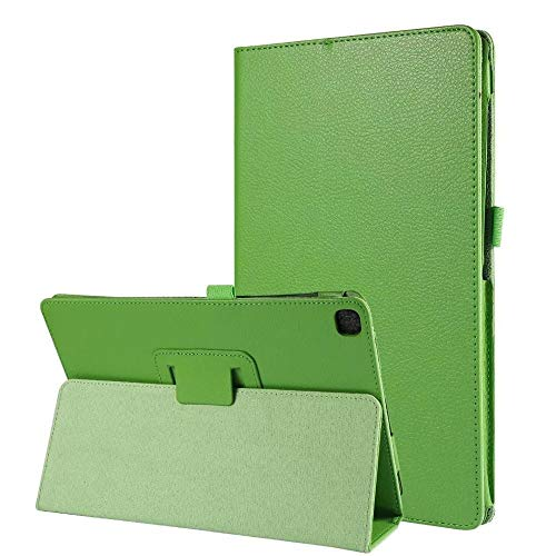 RZL PAD & TAB cases For Samsung Galaxy Tab A 10.1'' 2019 SM-T510 T515, Slim Smart Case Auto Sleep-Wake Up Flip Stand PU for Samsung T510 (Color : Green)